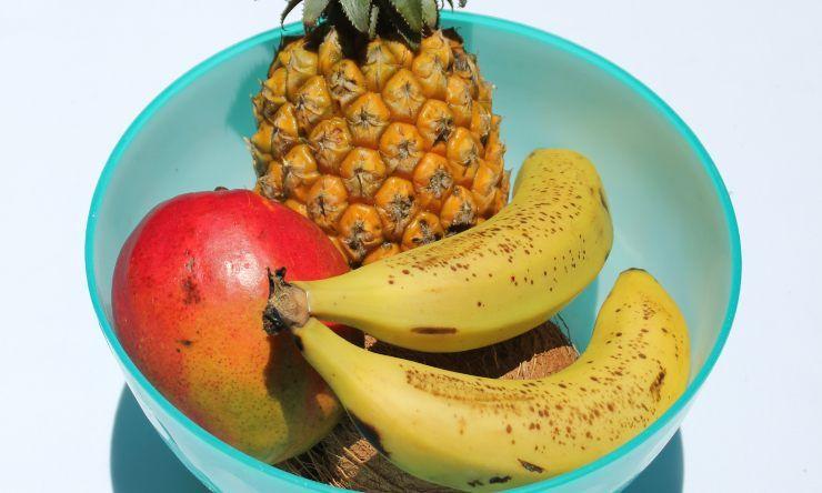 frutta in ciotola