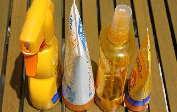 ingrediente creme solari