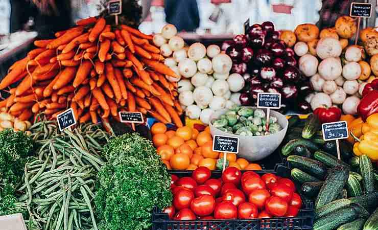 verdure microonde
