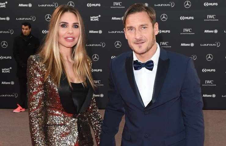 Francesco Totti Ilary Blasi vacanza