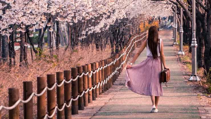 camminare tutti i giorni corpo