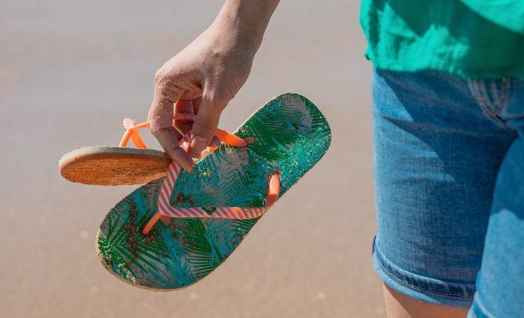 infradito spiaggia