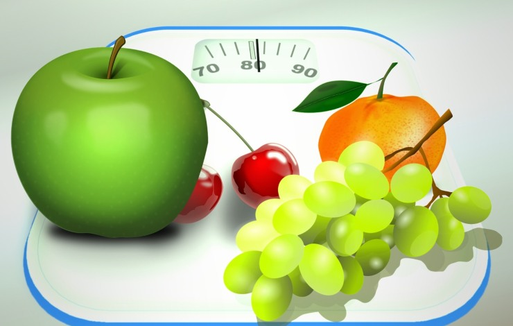 bilancia e alimenti