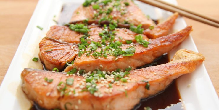 dieta pescetariana menù