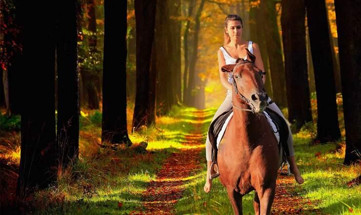 sognare di andare a cavallo