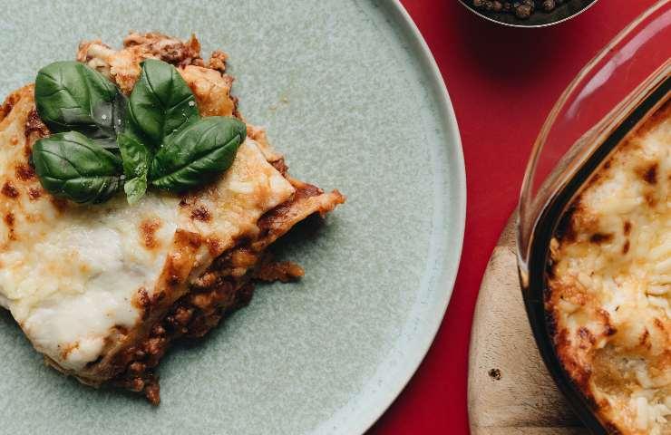 lasagne al sugo