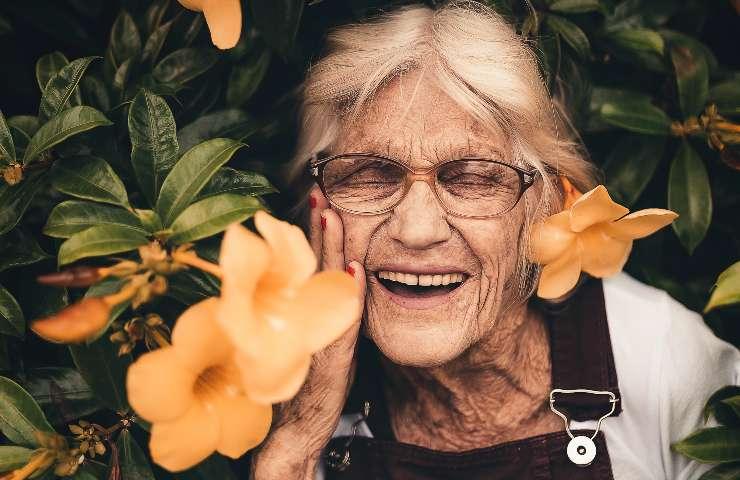 Anziana donna