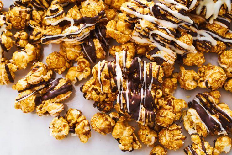 pop corn cioccolato