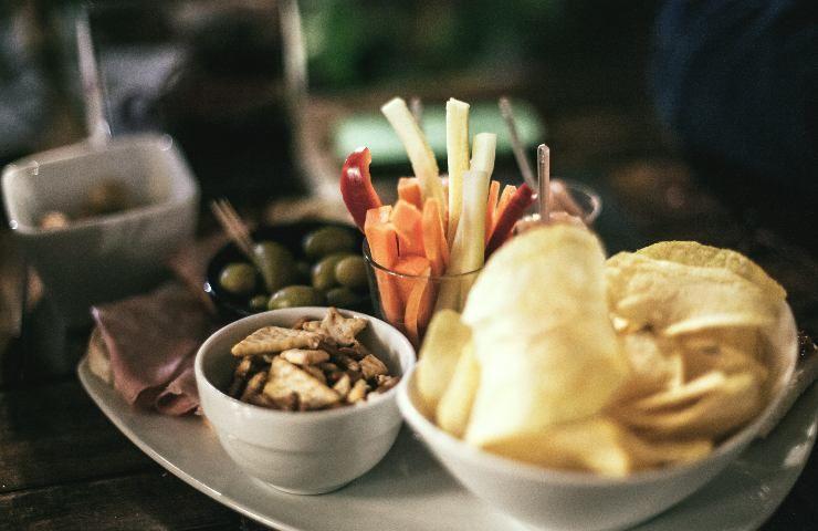dieta e aperitivo