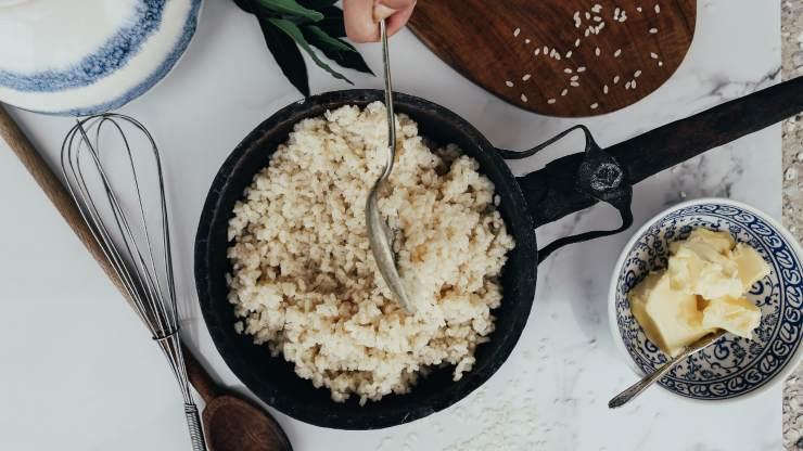 cuocere riso perfetto