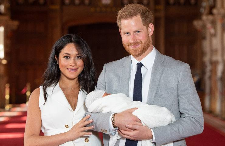 Harry e Meghan Royal Family