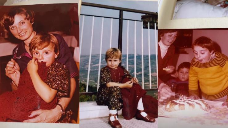 benedetta rossi foto infanzia