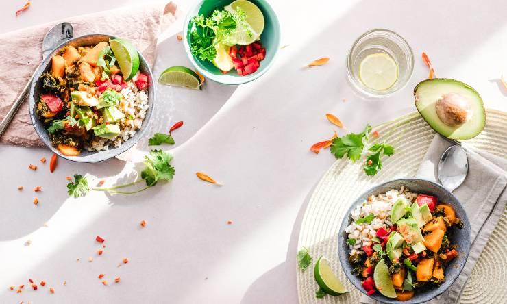 pranzo con quinoa