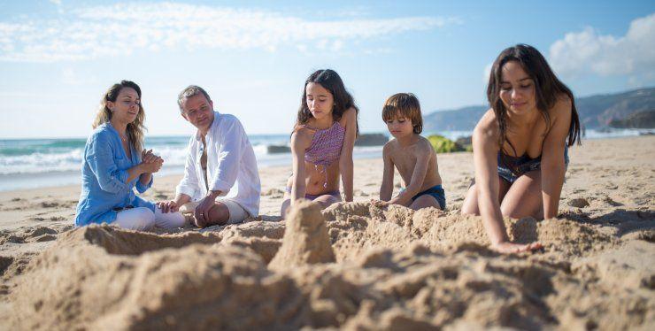 come togliere la sabbia dal costume
