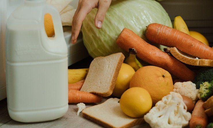 sprechi di cibo in casa