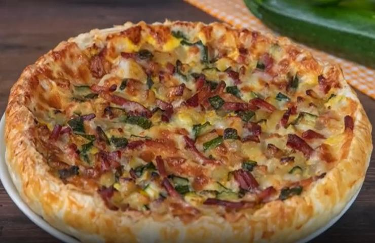 Pizza rustica Bendetta Rossi