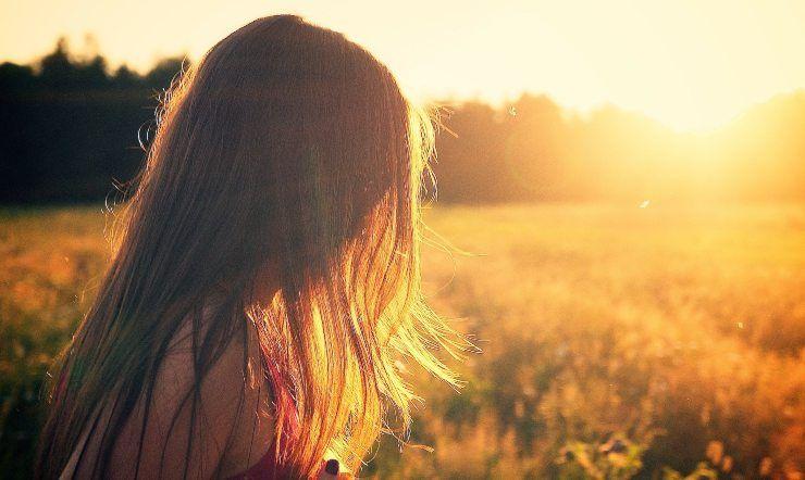 capelli esposti al sole