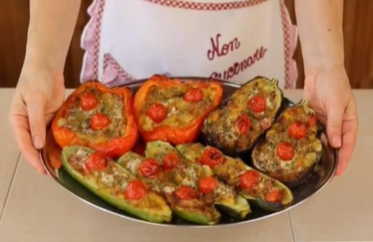 Benedetta Rossi verdure ripiene