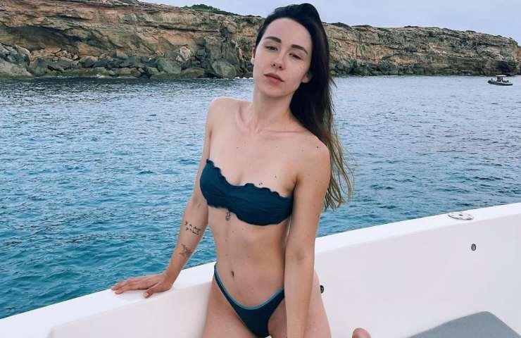 Aurora Ramazzotti in vacanza