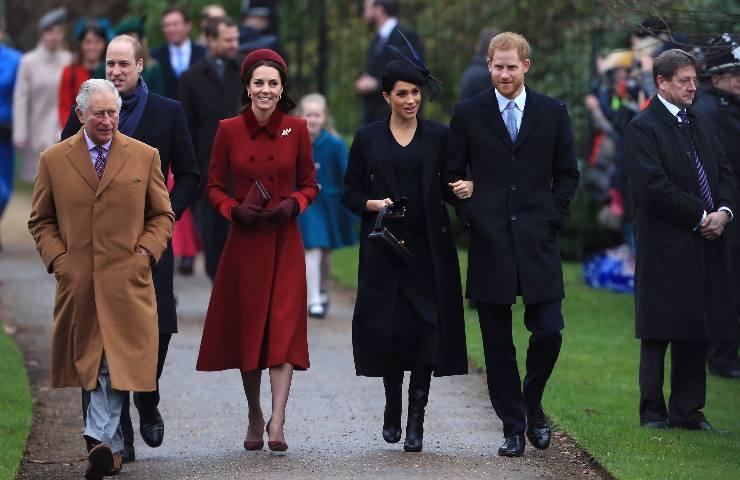 royal family a passeggio