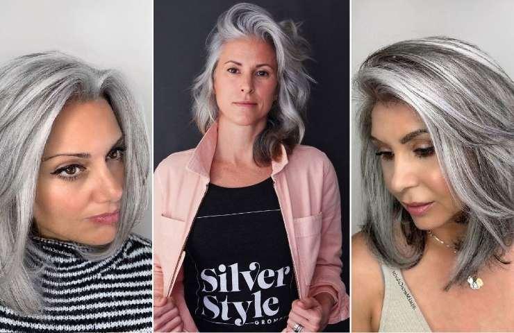 I capelli grigi possono essere molto gradevoli