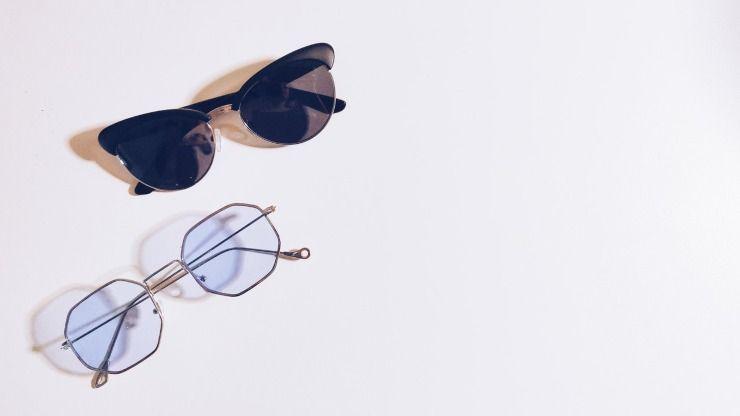 occhiali cateye