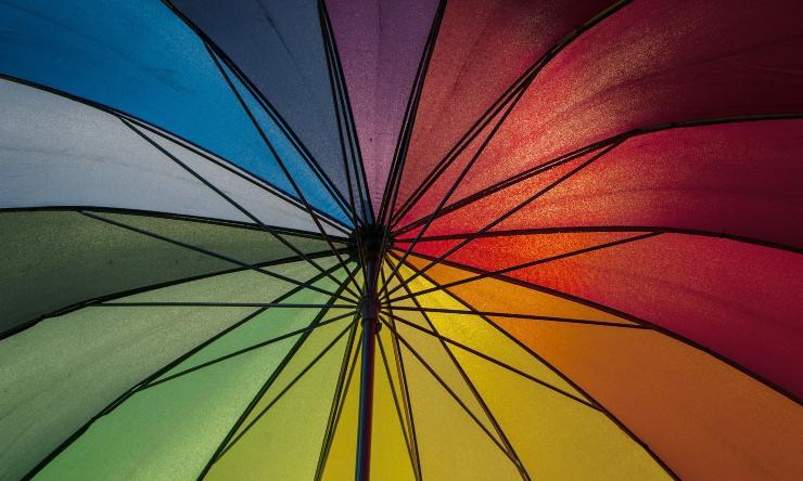 ombrellone aperto