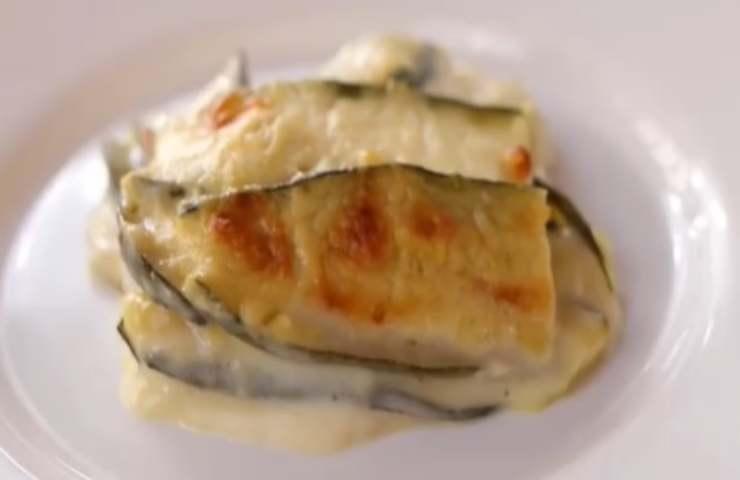 Parmigiana bianca di zucchine Benedetta Rossi