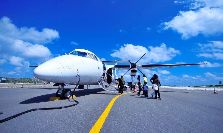 viaggiare comodi in aereo