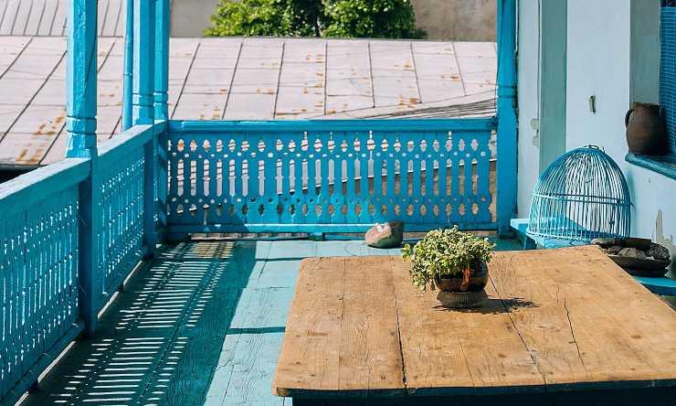 decorare il terrazzo
