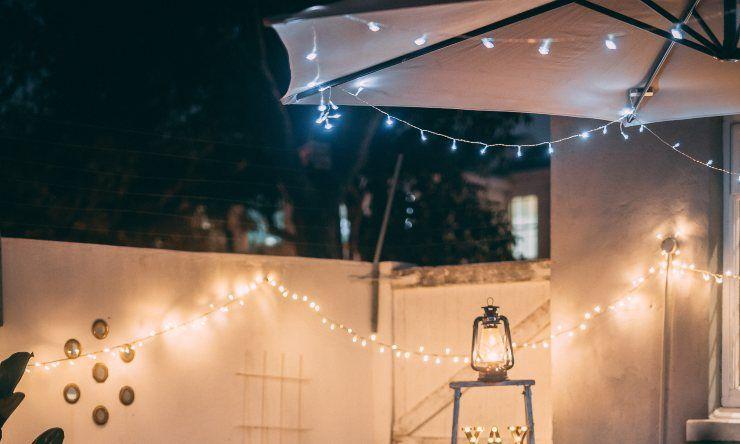 luci sul terrazzo