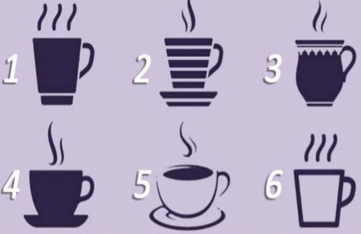 test della personalità caffè
