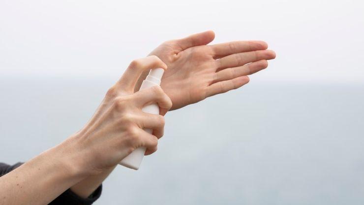 preparare igienizzante profumato mani