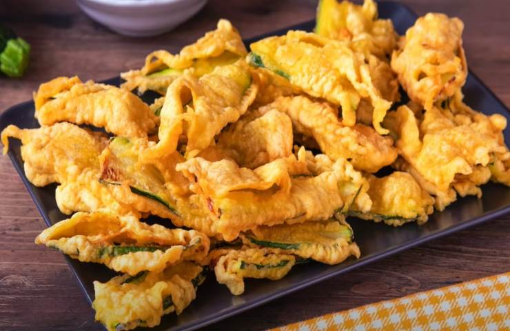 Zucchine frittellate