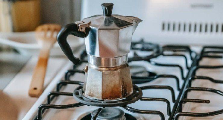 Preparare caffè moka