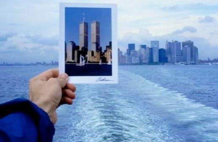 Foto per ricordare l'11 settembre 2001