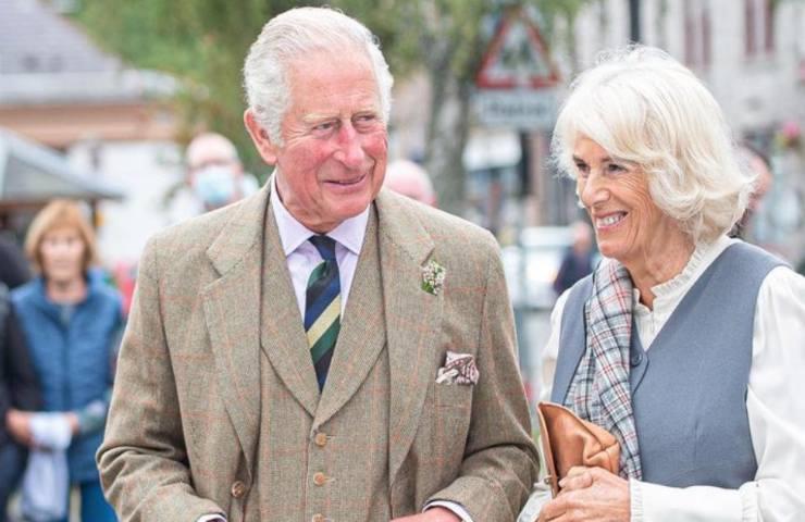 Il principe Carlo e Camilla Parker Bowles