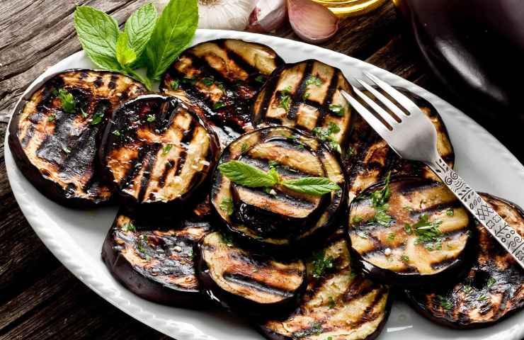 Dieta, Melanzane grigliate