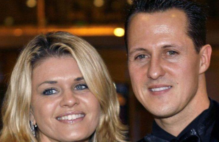 Michael Schumacher come sta parla la moglie