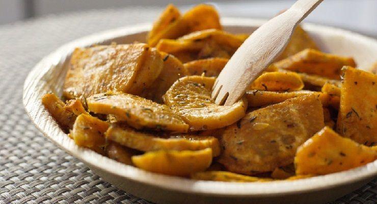 Fare Patate croccanti al forno