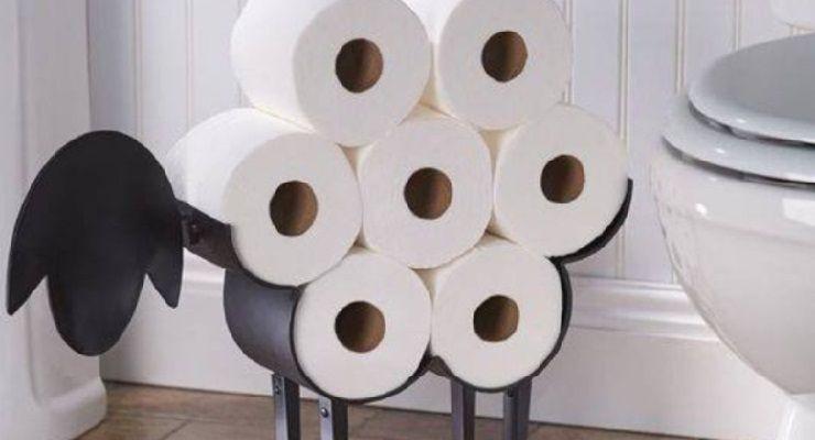 Rotoli carta igienica sostituzione