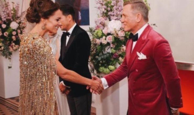 Kate Middleton con Daniel Craig