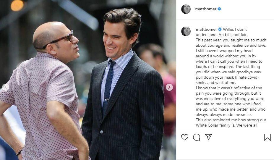 Matt Bomer post