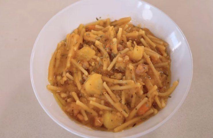 Pasta e patate Benedetta Rossi
