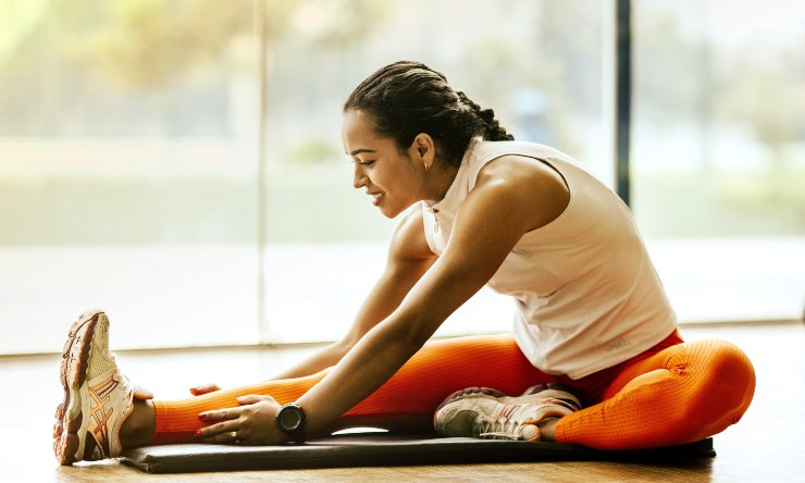 stretching dopo la ginnastica