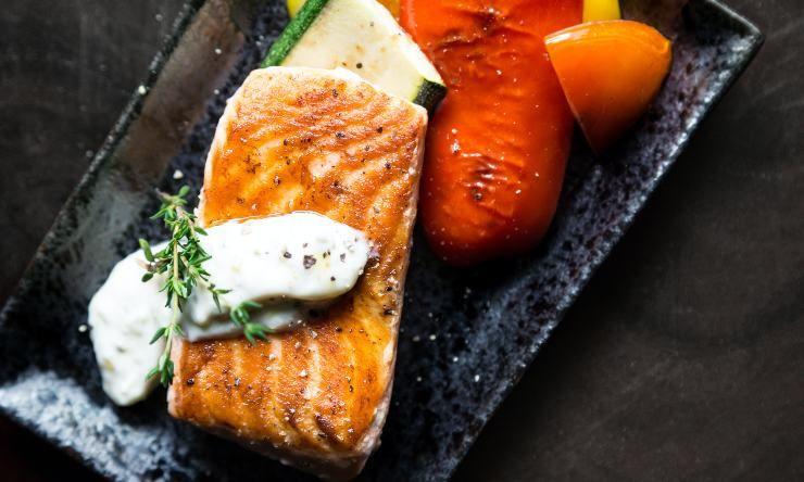 salmone contro lo stress