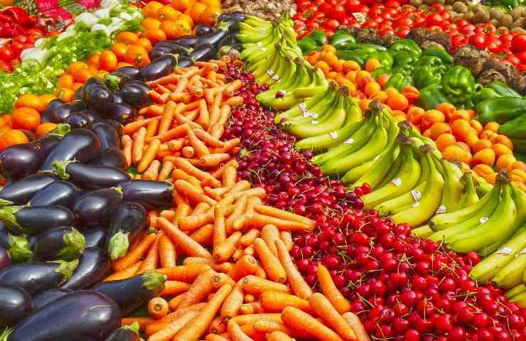 frutta e verdura più contaminate