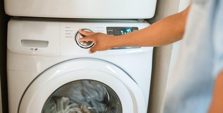 aceto in lavatrice