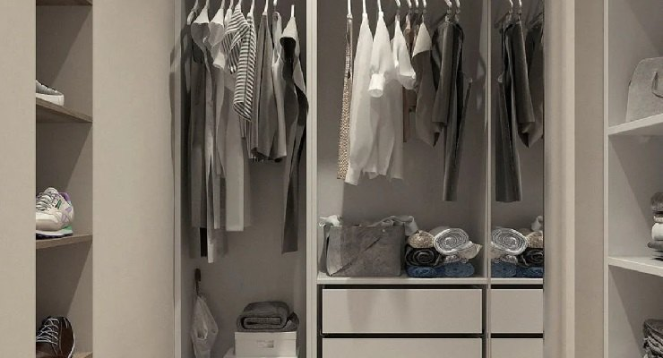 Pulire e profumare armadio