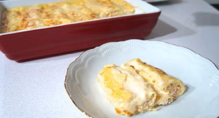 Preparare Cannelloni zucca e ricotta